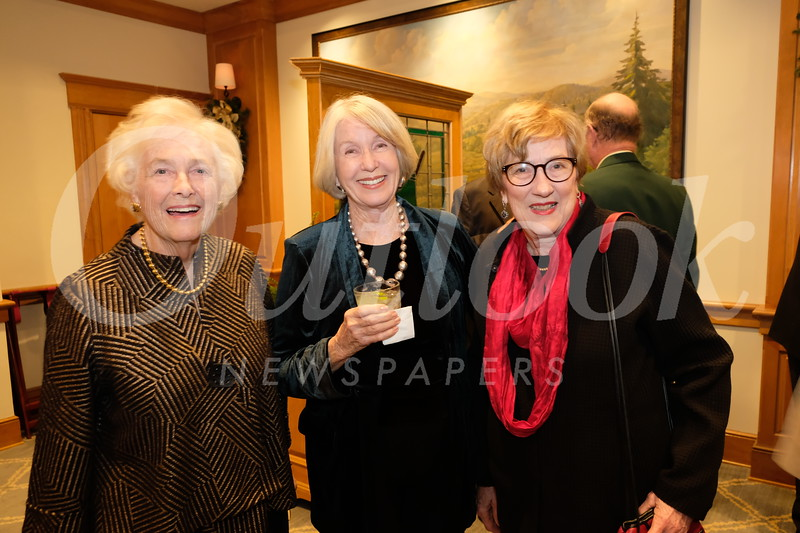 Anne Blomstrom, Jean Osher and Val Toms