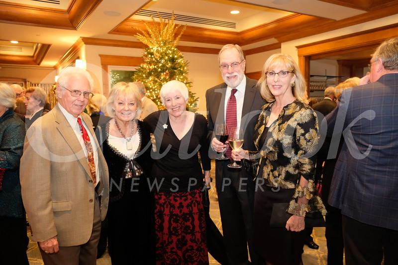 Ed de Beixedon and Cynthia Bennett, Robin Stafford, Tony Koerner and Norah Morley