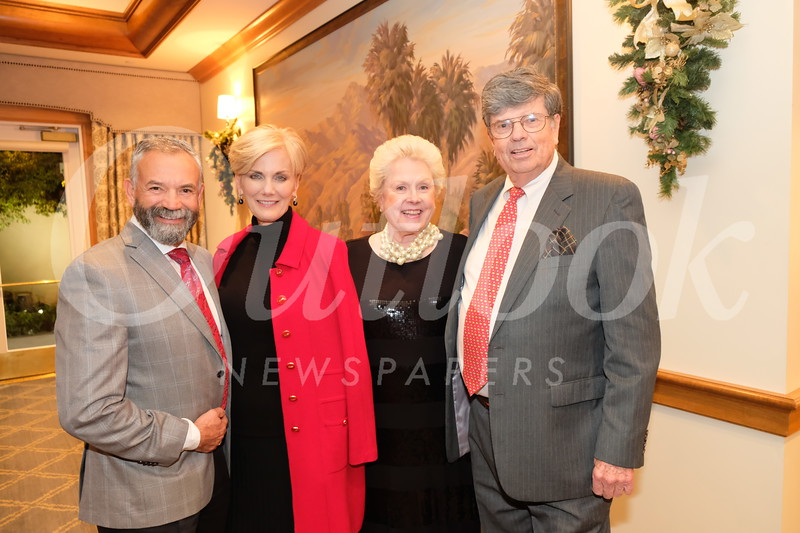 Phillip and Deborah Sanchez with Penny and Lee Grund
