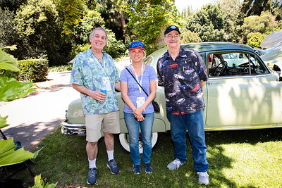 Larry and Cynthia Wehrle with Jason Norris