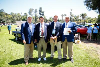 Mark Melvin, Mitch Mrazek, Jim Mikkelson and Dan Bishop
