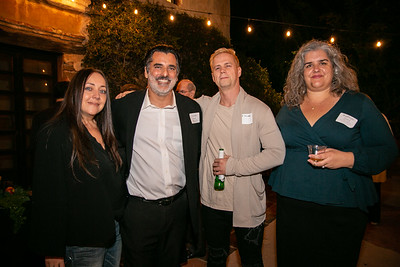 Natalia and Louis Pastis with Matt Yarusso and Katheryn Oliveros