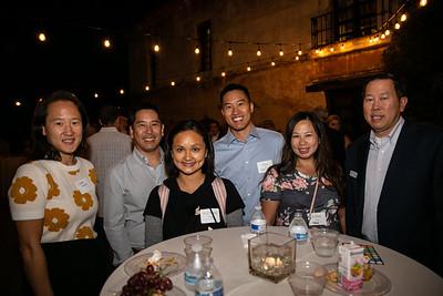 Jane Chon, Jon and Yii-Cheng Pang, Felix and Esther Yao, and Mark Yee
