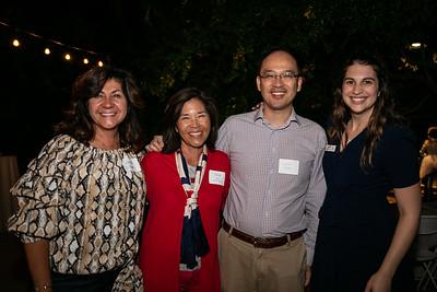 Corrine Wilson, Tina Siu, Larry Yang and Sara Snider