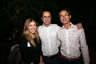 Ellie and Ali Helmy with SMSF Executive Director James Lau