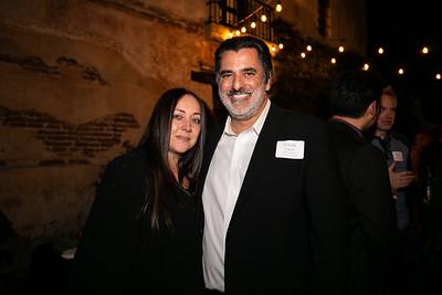 Natalia and Louis Pastis