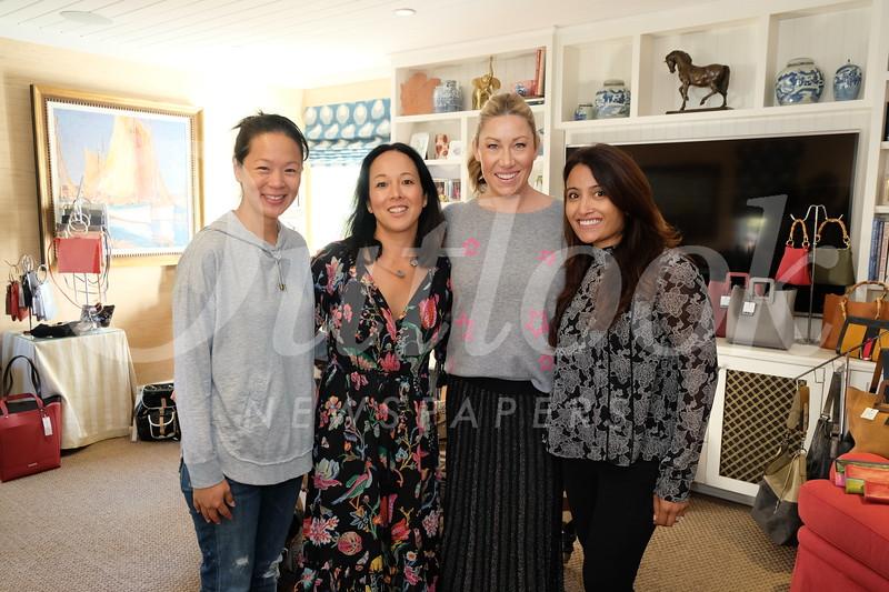 Jennifer Kang, Michele Esbenshade, Heather Jiggins and PTA President Zarana Patel