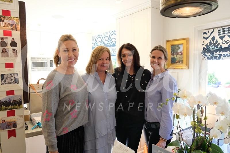 Heather Jiggins, Allison Viehl, Jonna Carls and Rebecca Reed