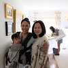 Zachary and Carol Huang with Loretta Wan