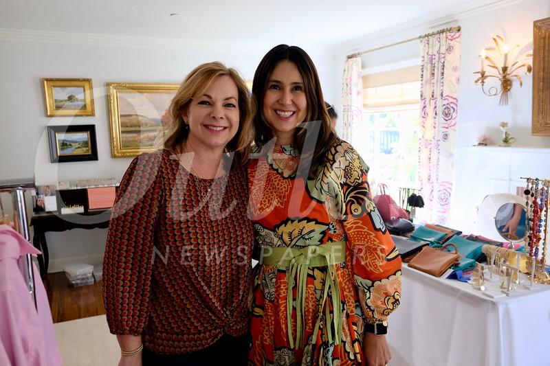 Cynthia Ary and Corina Madilian