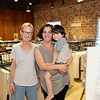 Beth Brady, Christina Zizzo and Julian Lester at A Place to Bead