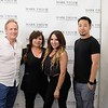 Mark Taylor, Rebecca Estrada, Kimberly Lunar and Jerry Wang of Mark Taylor Salon & Spa