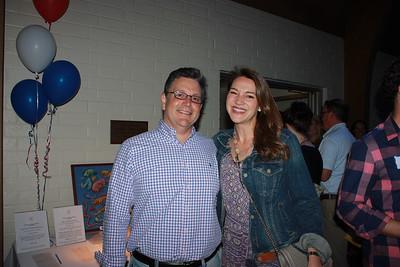 Michael Farhang and Ellen Lansden