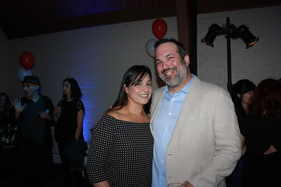 Ana and Tim Carey