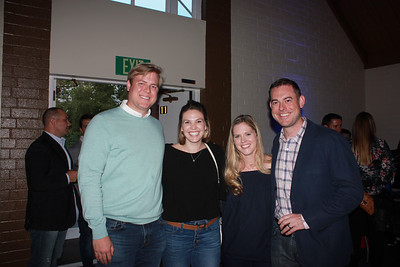 Andrew and Hayley Boaz with Jill and Jeff Lynn