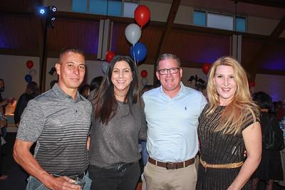 Felipe Malagon, Leslie and Pat Long and Brenda Dieck