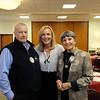 Steve Garrett, 5th District Supervisor Kathryn Barger and Lois Matthews
