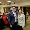 Mayor Steven Huang and Rotary President Fang Ho