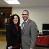 Brita Richardson and Rabbi Joshua Levine Grater