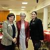 Gilda Moshir, Barbara Bice and Kathryn Barger's field deputy Sussy Nemer