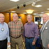John McClurg, John Morris, Gene Orlowsky and Police Chief John Incontro