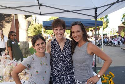 Carolina Kokoris, Liz Westphal and Tiffany Barden