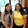Melody Wu and Teresa-Michelle Ruiz