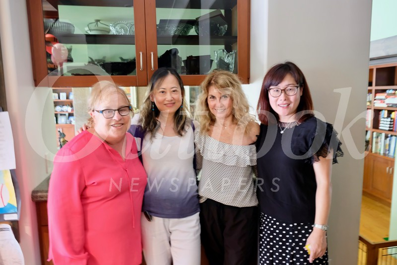Jo Anne Kindler, Lei Caine, Mary Reich and Teresa Zheng