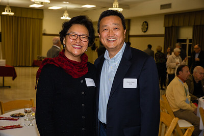 Annie Han and Hunter Chang