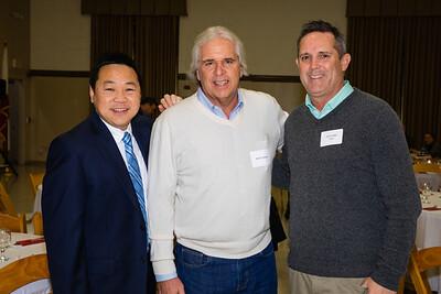 Jonathan Duong, Mitch Lehman and Rob Feidler