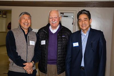 Isaac Hung, Hal Harrigian and Andrew Ko