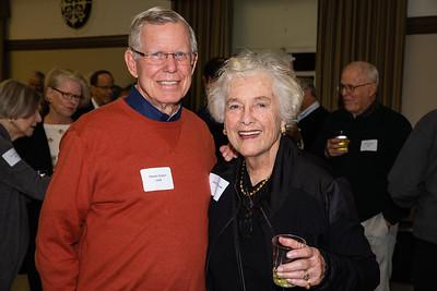 Dennis Kneier and Anne Blomstrom