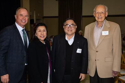 Jeff Wilson, Shelley Ryan, C. Joseph Chang and John Lucas