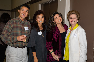 Victor Wong, Patricia Tom Mar, Linda Zadoian and Susan Jakubowski