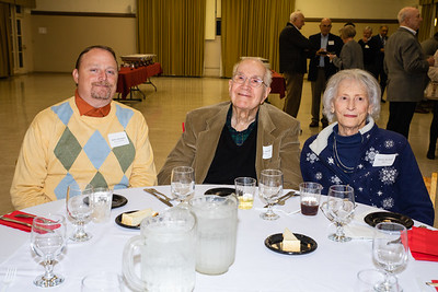Robert Bloomquist with Norman and Marilyn Marshall