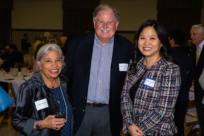 Molly Woodford, Robert Houston and Sandra Shinkfield
