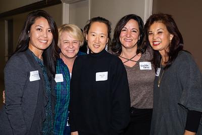 Jennifer Chuang, Beth Davis, Jane Chon, Nicolette Fuerst and Patricia Tom Mar