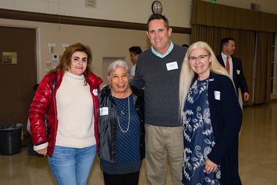 Nora Hoyos, Molly Woodford, Rob Feidler and Denise Wadsworth