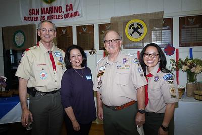 Joe and Annette Early, Tom Hartman and Nancy Ko