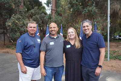 Joe Chaides, Victor and Heather Alcala, and Aaron Mauricio