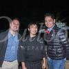 Matt Mukherjee, chef George Aguilar and