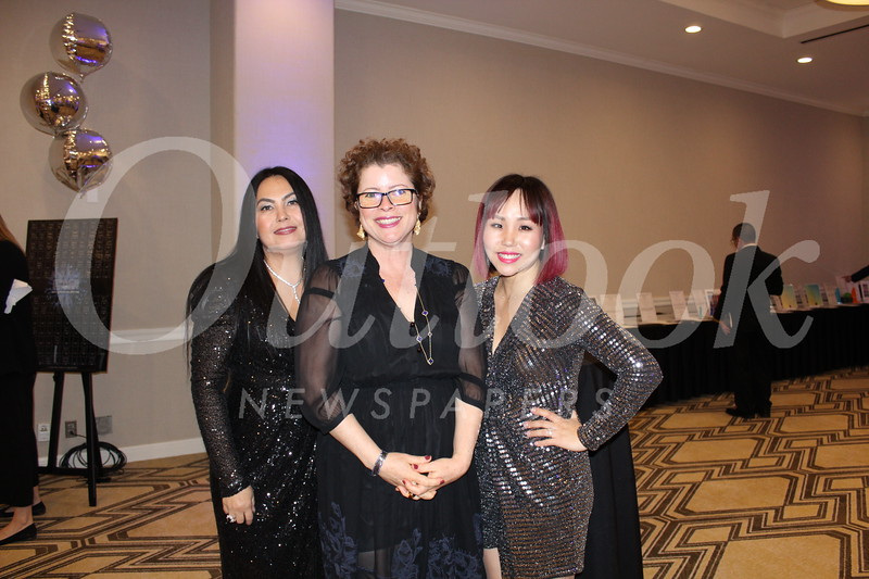 Maria Manibog, Isabelle Camps-Campins and Stacy Seow
