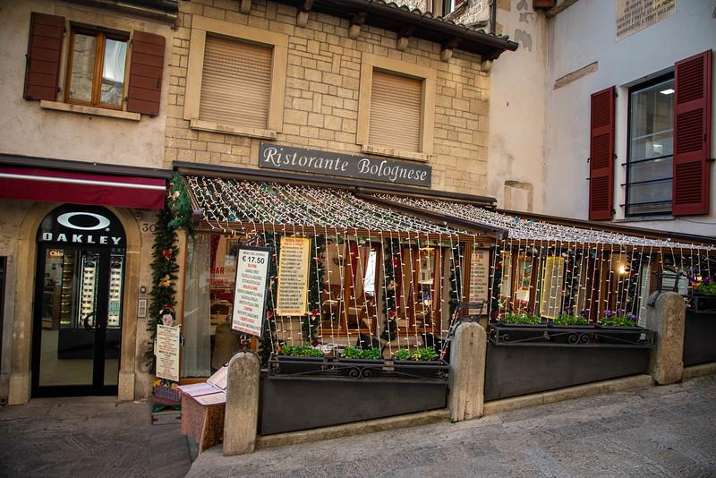 where to eat in san marino