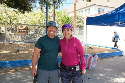 16 P E  Instructors Wes Gonzales and Laura Pollaro