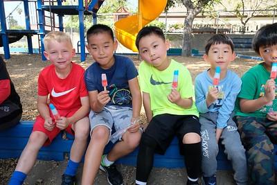 4 William Stenvick, Torrance Li, Adam Chen and Brad Zhang