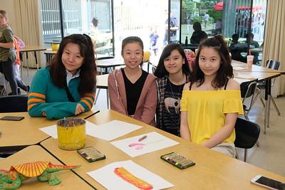 8 Jessica Wong, Lily Wang, Julia Dun and Emma Huang