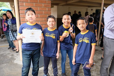 Carver 5th Graders Promoted to Middle School
