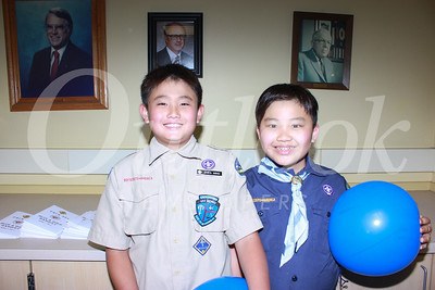 Carver Cub Scouts Blue and Gold Banquet