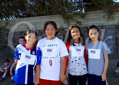 Miranda Fang, Irene Xue, Sarah Powert and Jane Kang