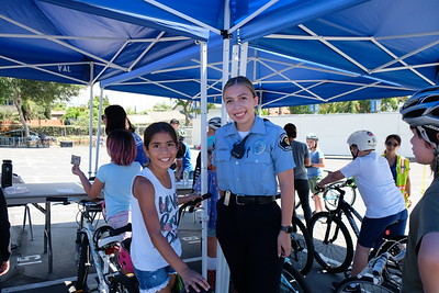 Carver Pedals to the Bike Rodeo